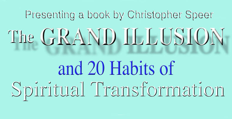 Presenting a book by Christopher Speer, the Grang Illusion.